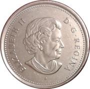 25 Cents - Elizabeth II (Saint Croix Island) -  obverse