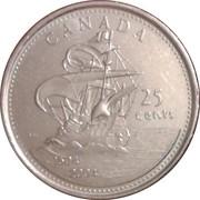 25 Cents - Elizabeth II (Saint Croix Island) -  reverse