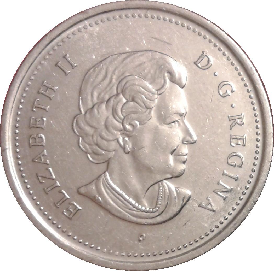 25 Cents Elizabeth Ii Saskatchewan Canada Numista