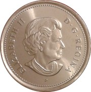 25 Cents - Elizabeth II (Remembrance Day) -  obverse