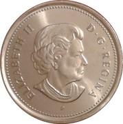 25 Cents - Elizabeth II (Remembrance Day) -  obverse
