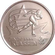 25 Cents - Elizabeth II (Cindy Klassen) -  reverse