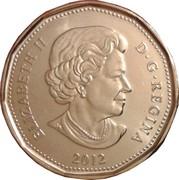 1 Dollar - Elizabeth II (100th CFL Grey Cup) -  obverse