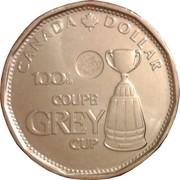 1 Dollar - Elizabeth II (100th CFL Grey Cup) -  reverse