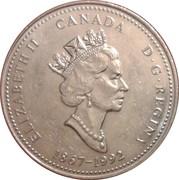 25 Cents - Elizabeth II (Alberta) -  obverse
