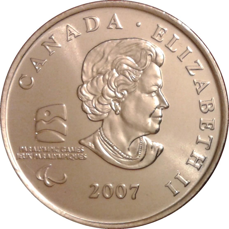 2010 Canada 25 Cents BU