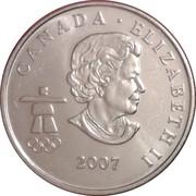 25 Cents - Elizabeth II (Biathlon) -  obverse