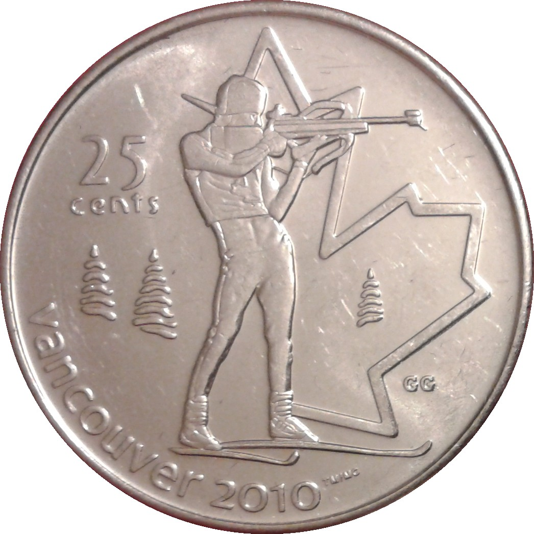 2010 VANCOUVER OLYMPIC QUARTER .25¢ COIN PICK 2 COINS TO FINISH YOUR SET