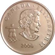25 Cents - Elizabeth II (Bobsleigh) -  obverse