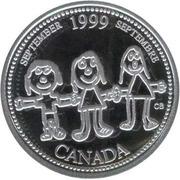 25 Cents - Elizabeth II (September; silver) -  reverse