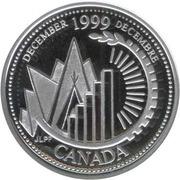 25 Cents - Elizabeth II (December; silver) -  reverse