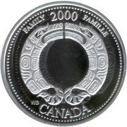 25 Cents - Elizabeth II (Family; silver) -  reverse