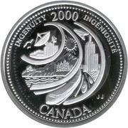 25 Cents - Elizabeth II (Ingenuity; silver) -  reverse