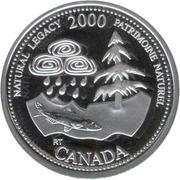 25 Cents - Elizabeth II (Natural Legacy; silver) -  reverse