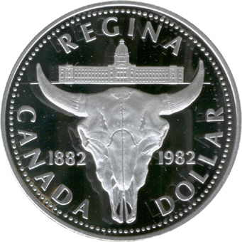 1 Dollar Elizabeth Ii Regina Centennial Canada Numista