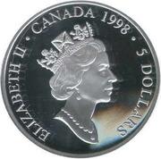 5 Dollars - Elizabeth II (Norman Bethune) -  obverse