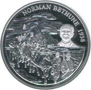 5 Dollars - Elizabeth II (Norman Bethune) -  reverse
