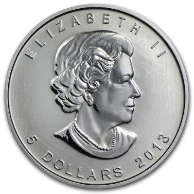 5 Dollars Elizabeth Ii 25th Anniversary Of Canadian