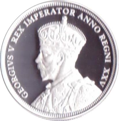 1 Dollar George V Voyageur Canada Numista