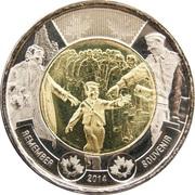 2 Dollars - Elizabeth II (Wait for Me, Daddy) -  reverse