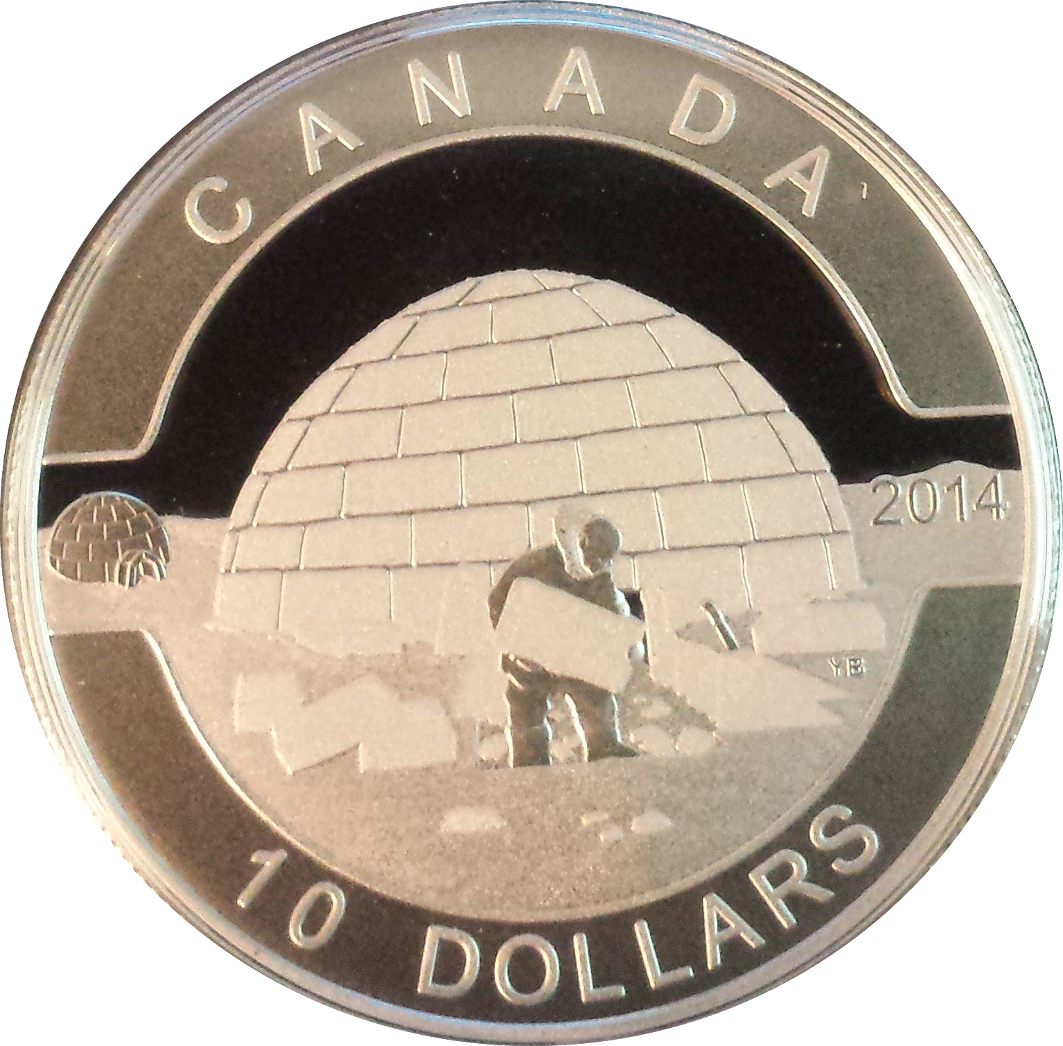 2014 Proof $10 Ducks of Canada #3-Northern Pintail Duck .9999 silver ten dollars
