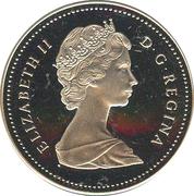 1 Dollar - Elizabeth II (Saint-Maurice Ironworks) -  obverse
