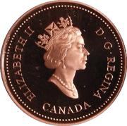 1 Cent - Elizabeth II (Royal Canadian Mint; mirror finish) – obverse