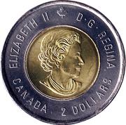 2 Dollars - Elizabeth II (Sir John A. MacDonald) -  obverse