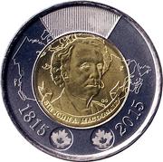2 Dollars - Elizabeth II (Sir John A. MacDonald) -  reverse