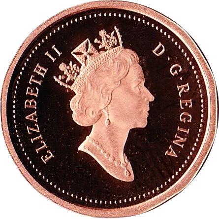 1 Cent - Elizabeth II (3rd portrait, 12 sided) - Canada – Numista