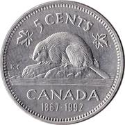 5 Cents - Elizabeth II (Confederation) -  reverse
