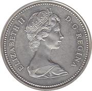 1 Dollar - Elizabeth II (Royal Canadian Mounted Police) -  obverse