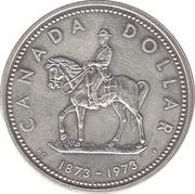 1 Dollar - Elizabeth II (Royal Canadian Mounted Police) -  reverse
