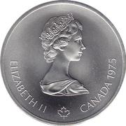 10 Dollars - Elizabeth II (Hurdles) -  obverse