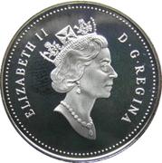 50 Cents - Elizabeth II (Cougar Kittens) -  obverse