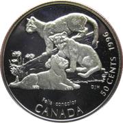 50 Cents - Elizabeth II (Cougar Kittens) -  reverse
