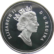 50 Cents - Elizabeth II (Black Bear Cubs) -  obverse