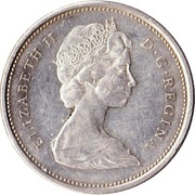 25 Cents - Elizabeth II (2nd portrait) -  obverse