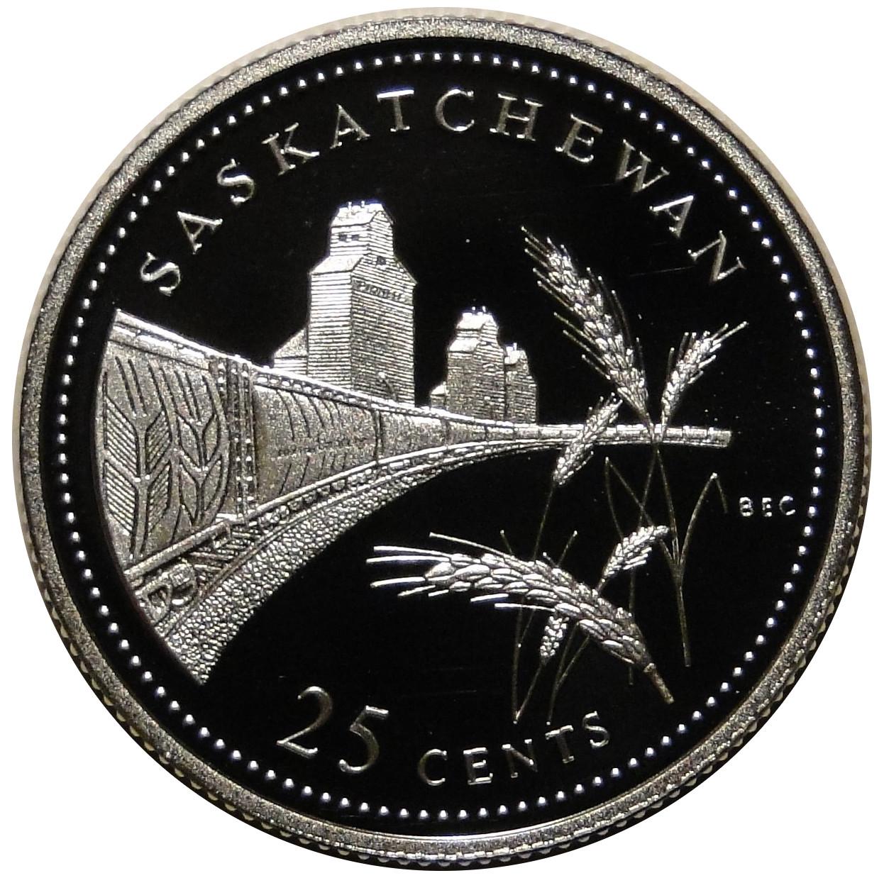 1992 Canada 125th Newfoundland 25 Cents Gem BU UNC Quarter!!