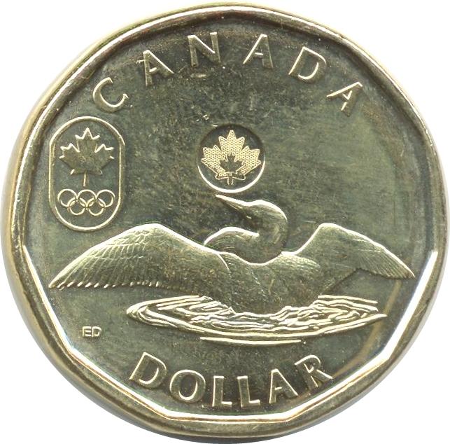 1 Dollar Elizabeth Ii Lucky Loonie