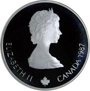 20 Dollars - Elizabeth II (Curling) -  obverse