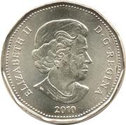 1 Dollar - Elizabeth II (Lucky Loonie) -  obverse