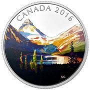 20 Dollars - Elizabeth II (Landscapes; Lake Magog) -  reverse