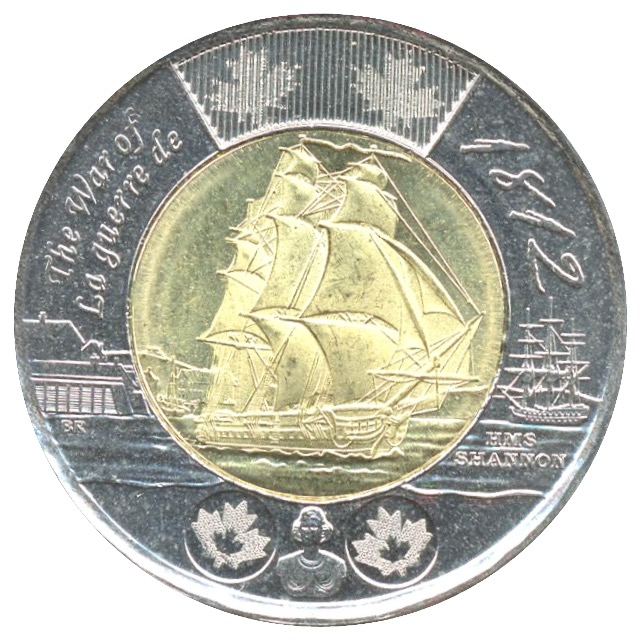 2012 CANADA  2 DOLLAR TOONIE combined shipping