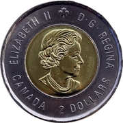 2 Dollars - Elizabeth II (Battle of The Atlantic) -  obverse