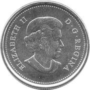 25 Cents - Elizabeth II (Orca) -  obverse