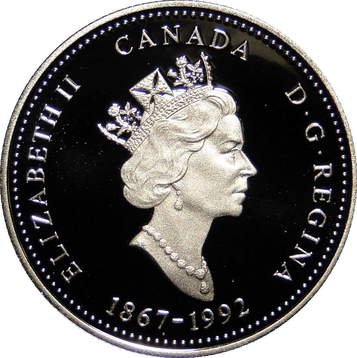 2012 Canada Silver Proof 25 Cents