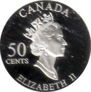 50 Cents - Elizabeth II (Quebec Carnival) -  obverse