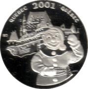 50 Cents - Elizabeth II (Quebec Carnival) -  reverse
