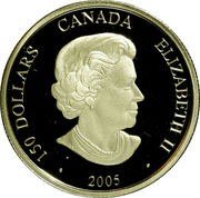 150 Dollars - Elizabeth II (Year of the Rooster) -  obverse